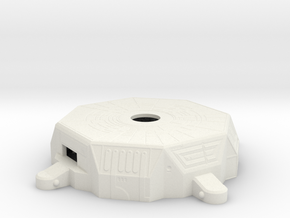 Loopin' Chewie - 4 Player Conversion Gearbox Top in White Natural Versatile Plastic