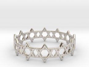 David Bracelet 68 in Platinum