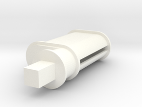 Zunhammer Pump 1 1:32 in White Processed Versatile Plastic
