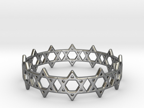 David Bracelet 78 in Fine Detail Polished Silver