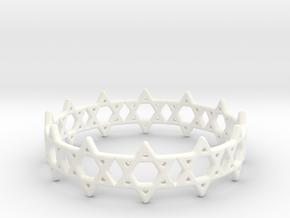David Bracelet 80 in White Processed Versatile Plastic