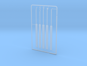 Lock Pick Set in Smooth Fine Detail Plastic