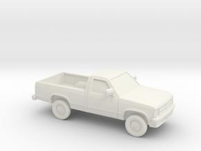 1/87 1987-90 Dodge Dakota in White Strong & Flexible