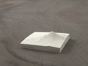 3''/7.5cm Mt. Fuji, Japan, Sandstone in Natural Sandstone