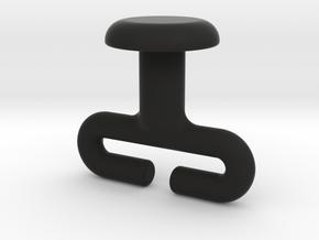 Mercedes Viano, Vito , V series Cargo Net Hook  in Black Natural Versatile Plastic