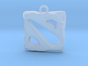 DOTA 2 Emblem in Smoothest Fine Detail Plastic