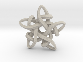 Celtic Star Pendant in Natural Sandstone