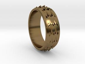 RidgeBack Ring Size 6 in Polished Bronze