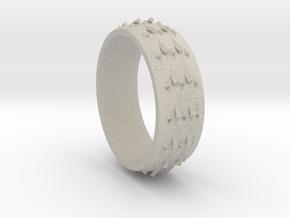 RidgeBack Ring Size 6 in Natural Sandstone