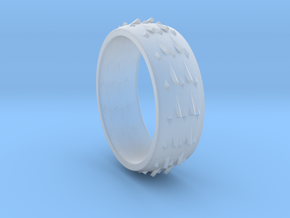 RidgeBack Ring Size 6 in Smooth Fine Detail Plastic