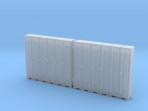 Locker 01. HO Scale (1:87) in Smooth Fine Detail Plastic