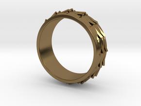 RidgeBack Ring Size 7.5 in Polished Bronze