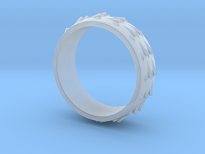 RidgeBack Ring Size 7.5 in Smooth Fine Detail Plastic