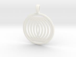 LAZARUS in White Processed Versatile Plastic