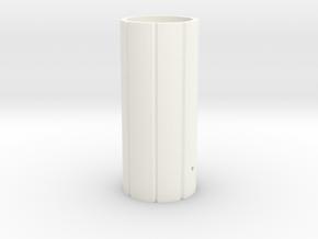 Mhs Hilt Sleeve Version 3 Mk1 in White Processed Versatile Plastic