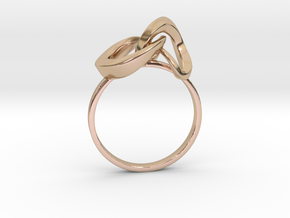 Infinite Ring in 14k Rose Gold