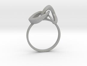 Infinite Ring in Aluminum