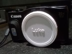Canon Cap - 58mm in White Strong & Flexible