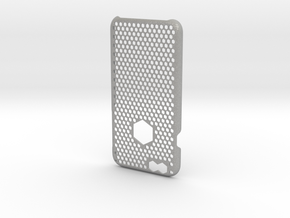 iPhone 6 case_ Hexagons in Aluminum