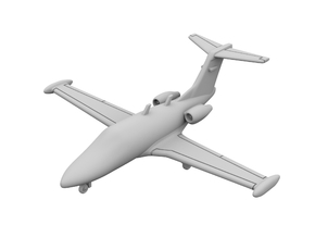 1:400 - Eclipse 500 in Smooth Fine Detail Plastic