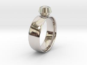 Gem Ring in Platinum