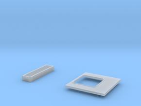 KLAPPE UND LUEFTERSCHLITZE in Smooth Fine Detail Plastic