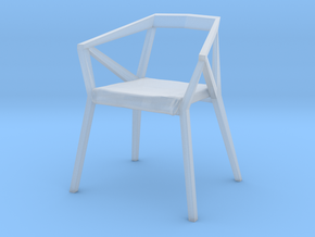 1:48 YY Chair in Smooth Fine Detail Plastic