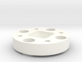Flange Reduced in White Processed Versatile Plastic