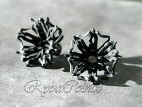 Plugs / gauge / size 0G (8mm) in Black Natural Versatile Plastic