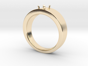 6x4mm Em Cut Size 12 in 14K Gold