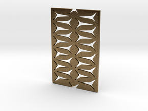 Youniversal Cardholder,Fine Structured, Accessoir in Natural Bronze