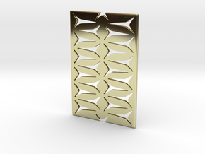 Youniversal Cardholder,Fine Structured, Accessoir in 18k Gold Plated