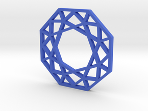 octagon.charm in Blue Processed Versatile Plastic