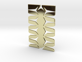 Youniversal Cardholder, Structured, Accessoir in 18k Gold Plated