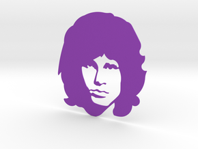 Jim Morrison in Purple Processed Versatile Plastic