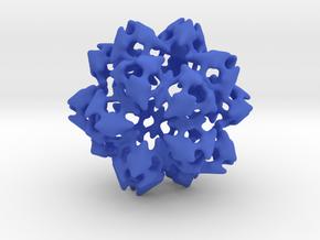 Atomic Shamrock in Blue Processed Versatile Plastic