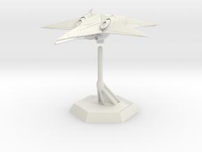 Star Sailers - Tellurian Star Fighter 003ex  in White Natural Versatile Plastic