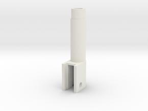 Barrel for Tm mk 23 pistol 14mm in White Natural Versatile Plastic