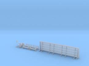 NGPLM36 Modular PLM train station in Smoothest Fine Detail Plastic