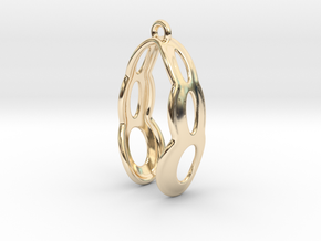 Fine Earring in 14K Yellow Gold