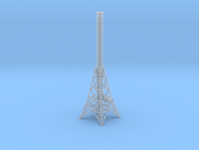 N Smoke Stack in Smooth Fine Detail Plastic
