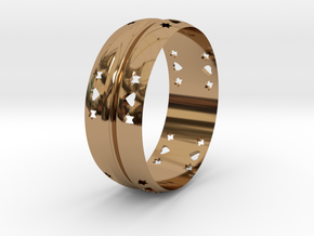 Bangle in Polished Brass