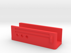 Blaster Lower Receiver in Red Processed Versatile Plastic