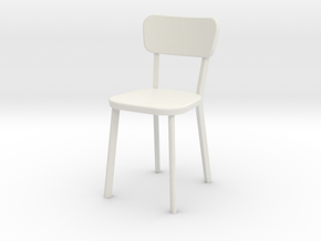1:24 Deja-vu Chair in White Natural Versatile Plastic