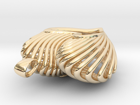 The Open Heart in 14K Yellow Gold