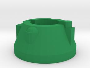 Blaster Rear Cap in Green Processed Versatile Plastic