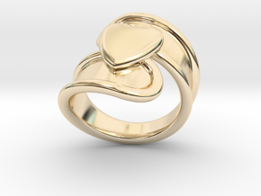 Valentinodayring  18 - Italian Size 18 in 14K Yellow Gold