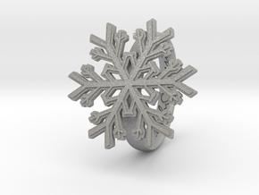Snowflake Ring 1 d=18mm h35d18 in Aluminum