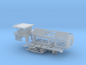 Flughafen - 1:220 (Z scale) in Smooth Fine Detail Plastic