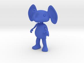 Tiny Elephant in Blue Processed Versatile Plastic